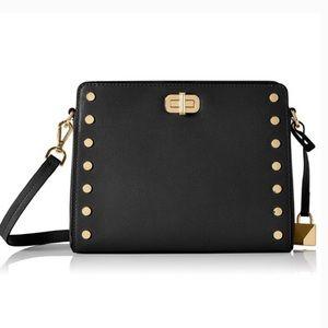 Michael Kors Sylvie Studded Leather Crossbody Bag